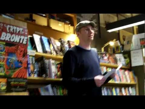 02.16.13 - PAUL SIEGELL - Penn Book Center, Philadelphia, PA 