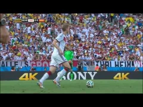 Germany Ghana 2014 World Cup Full Game BBC