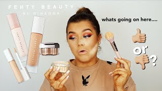 FENTY BEAUTY.. IS IT WORTH THE HYPE? 🤔 TESTING ALL THINGS SKIN! | Rachel Leary
