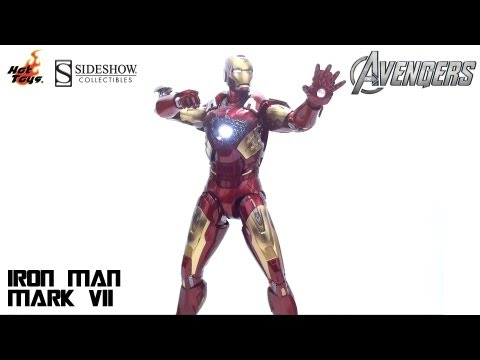 Video Review of the Hot Toys: Iron Man MK VII from Avengers