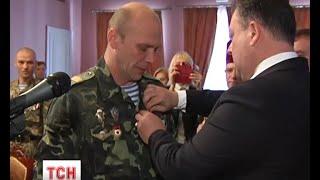 «Лицарський хрест родини Мазеп» сьогодні отримали 30 бійців аеромобільної бригади - (видео)