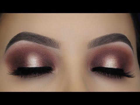 Classic Brown Halo Eye Makeup Tutorial