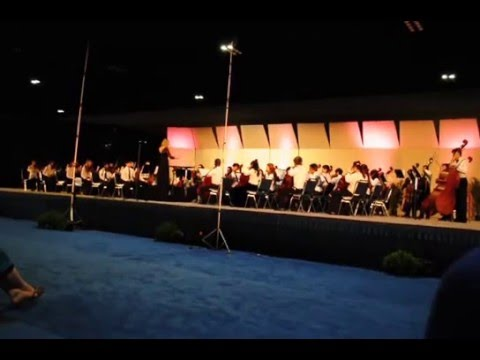FLORIDA ALL STATE MIDDLE SCHOOL ORCHESTRA - JANUARY 12, 2013 - TAMPA, FLORIDA