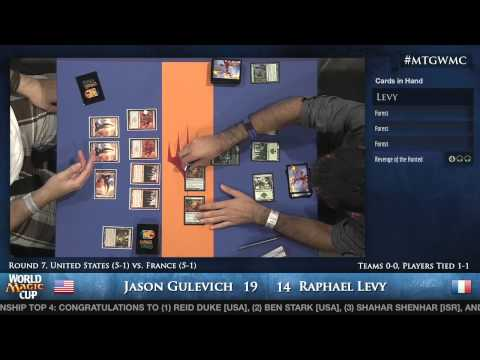2013 World Magic Cup - Unified Standard - Round 7 - United States vs. France