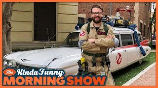 Greg Miller is Officially a Ghostbuster - The Kinda Funny Morning Show 07.18.18