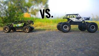 RC Rock Crawler VS Rc Buggy Car