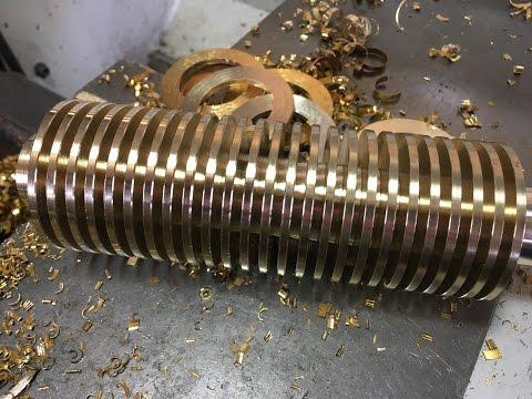 Изготовление бронзовых шайб. Способ 2 Все