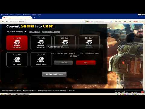 How to Convert Garena Shells to Cash for Point Blank in easy way