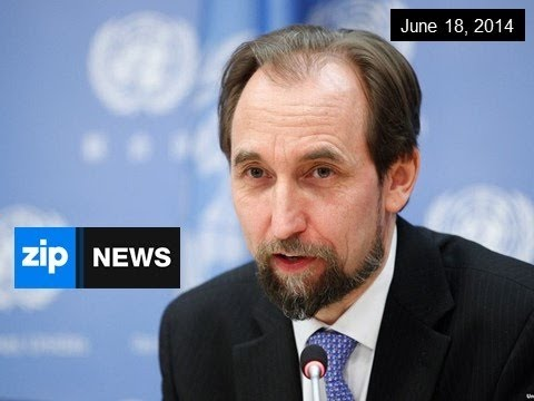 Prince Zeid Al-Hussein of Jordan Elected to UN - June 18, 2014