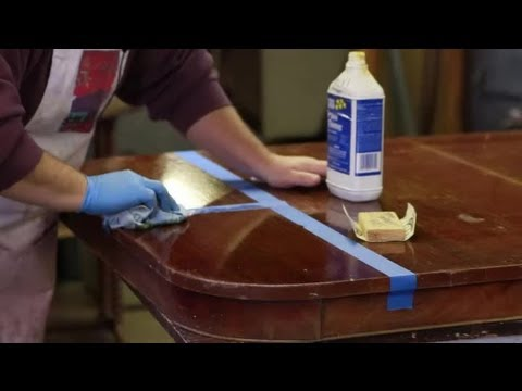 How to Repair a Polyurethane Wood Finish : Furniture Repair Tips