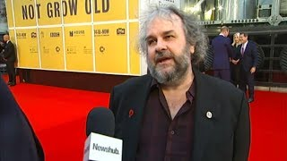 Peter Jackson interview at They Shall Not Grow Old premiere | Newshub