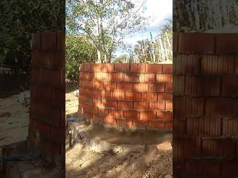 Cisterna de lajotas de cerâmica criatividade de Paulo Pereira da Silva