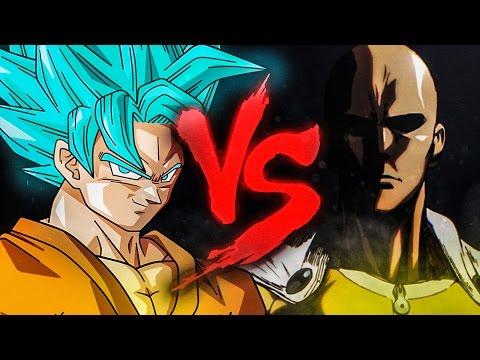 Goku VS. Saitama | Duelo de Titãs