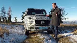 2018 Mercedes G-Class G-Klasse - First Prototype Ride - Video Report