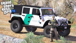 GTA 5|LSPDRF #252|POLICIA FRONTERIZA -AUTO ARMAD0- BORDER PATROL|EdgarFtw