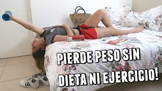 10 TRUCOS PARA PERDER PESO SI ERES FLOJA! | What The Chic