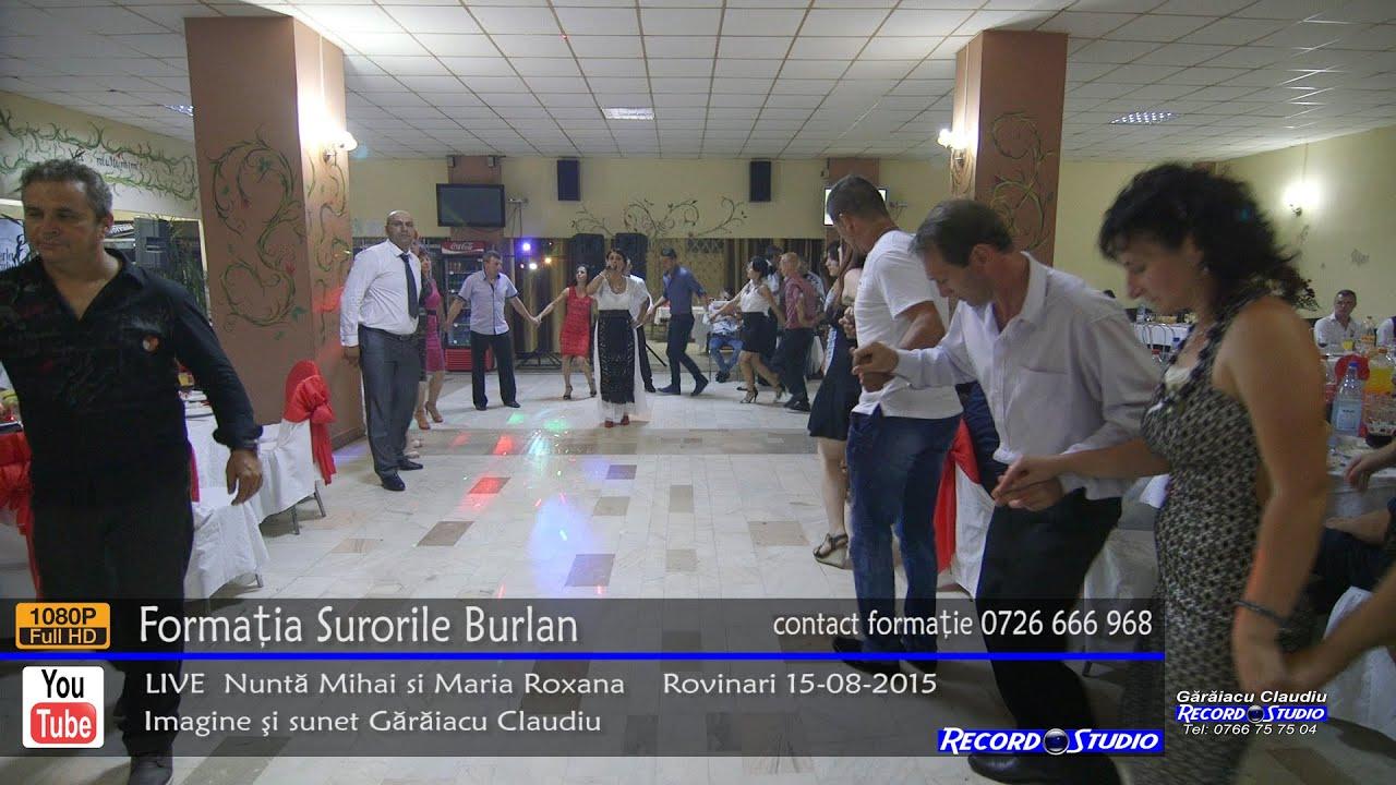 ♫ Surorile Burlan Colaj HORA part.2 LIVE Nunta Mihai si Maria Roxana 15-08-2015