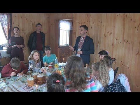 """Голова фракції ВО """"Свобода"""" в облраді організував писанкарський майстер-клас у Старому Солотвині та зустрівся з громадою села"""
