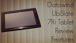 Datawind UbiSlate 7Ri Tablet Review Features Apps Games Demo