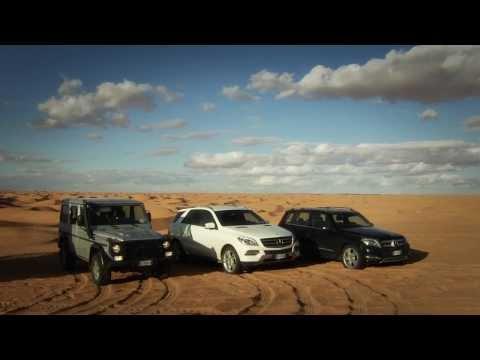 Mercedes-Benz Desert Test Drive - G Class, GLK, ML Class