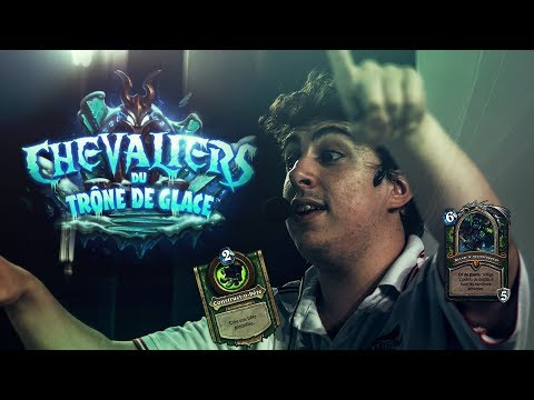LES CHEVALIERS DU TRÔNE DE GLACE Hearthstone Nouvelle extension !!