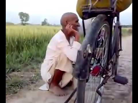 Punjabi Baba Singing A Beautiful Song.......mp4 video