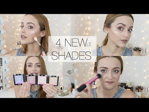 NEW Wet n Wild Mega Glo Highlights   Face Swatches + Review