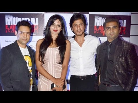 Shah Rukh Khan, Sachiin Joshi, Sonu Sood Among Others At 'Mumbai Mirror' Premiere