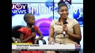 Kalybos Meets Emmanuela - Joy News Interactive (12-8-16)