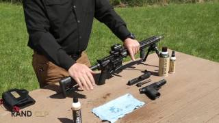 Kyle Lamb Lubes his AR with RAND CLP