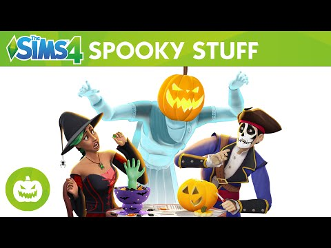 The Sims 4 Spooky Stuff: Official Trailer