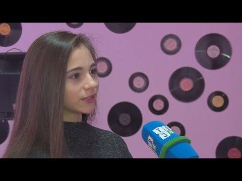 ТВЭл - Карина Захватова о победе в танцевальном конкурсе (13.12.17)