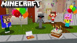 ALPHAS XXL GEBURTSTAGSPARTY in MINECRAFT