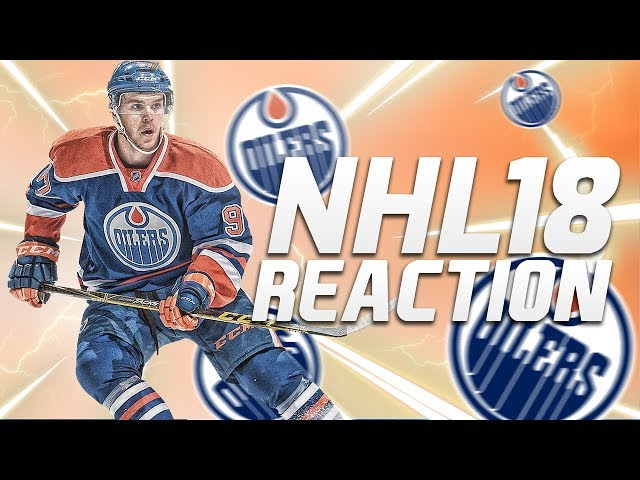 NHL 18 REACTION  NEW FEATURES!!!
