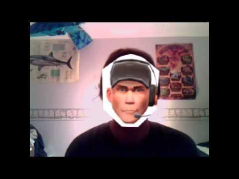 Team Fortress 2 Spy Masks for Webcams!