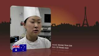 Watch Seung Yun Lee, from Australia prepare for the World Chocolate Masters Final 2011