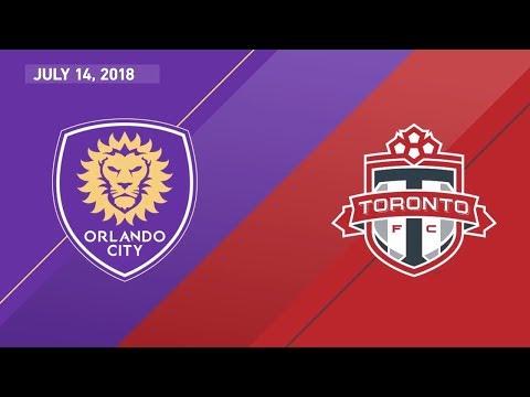 Match Highlights: Toronto FC at Orlando City SC - July 14, 2018