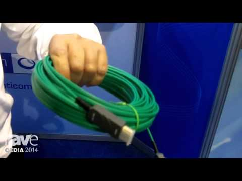 CEDIA 2014: Opticomm Emcore Adds 4K Optical Hybrid Cable – No External Power Needed