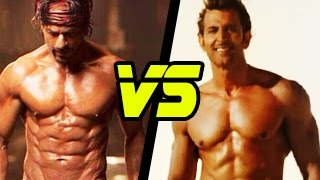 Shahrukh Khans ABS in Happy New Year V/S Hrithik Roshans in Bang Bang | HOT OR NOT?