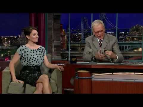Lns David Letterman - Tina Fey 24-year Old Virgin video