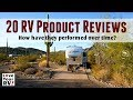 20 Love Your RV Product Reviews and Mods - How They've Performed Over Time