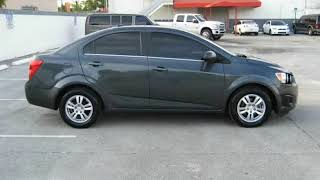 2013 Chevrolet Sonic Chevy Sonic 4dr Sdn LT Auto (Miami, Florida)