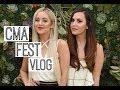 CMA FEST VLOG | MeganandLiz
