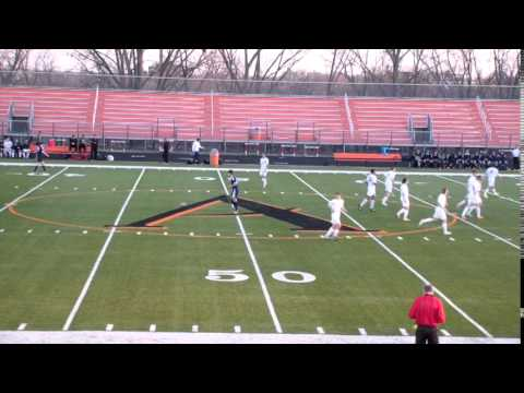 Ames High School Boys Soccer vs Urbandale 2014