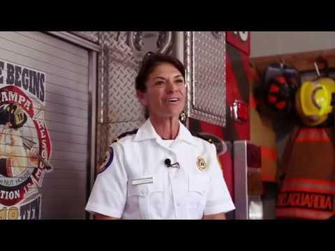 MEET AMERICA'S FEMALE FIREFIGHTERS