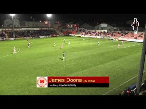 Goal: James Doona (1st vs Derry City 26/10/2018)