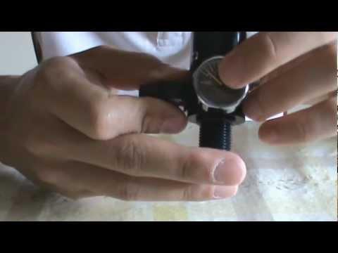 How to adjust paintball regulator output pressure.