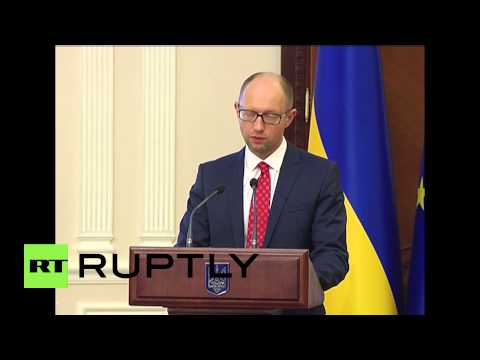 Ukraine: NATO 'Special Partner No.1'- Yatsenyuk calls for closer ties