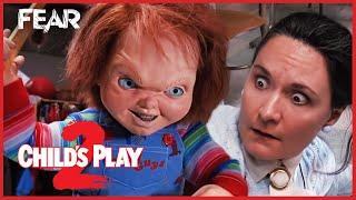 Chucky Teaches Miss Kettlewell A Lesson   Child's Play 2