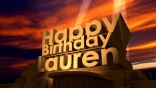 Download Lagu Happy Birthday Lauren Gratis STAFABAND